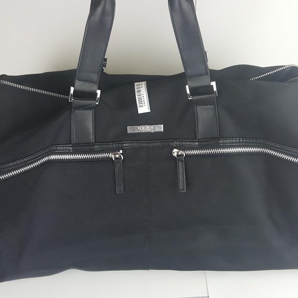 MEN S VERSACE PARFUMS BLACK DUFFLE BAG   WEEKENDER.  M 5bbc1544e944ba13526feb74 b091d810e9